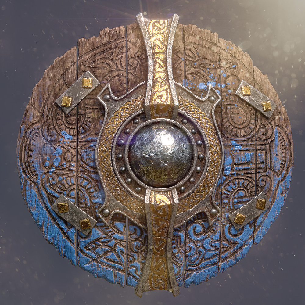Artstation Royal Viking Shield Ivanna Liittschwager
