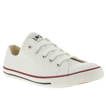 Womens White Converse All Star Dainty Canvas at schuh
