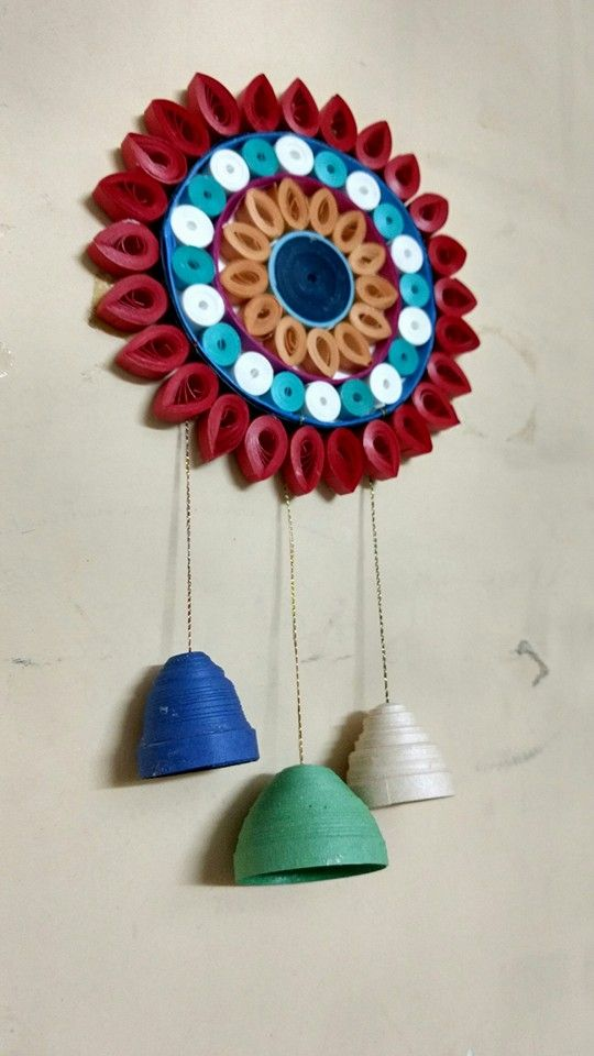Quilled Wall Hanging Designed By Me Pinterest Quilling Paper