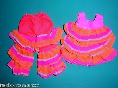 VHTF Vintage Mod 1970 Skipper FANCY PANTS Pink Orange Variation Outfit 1738