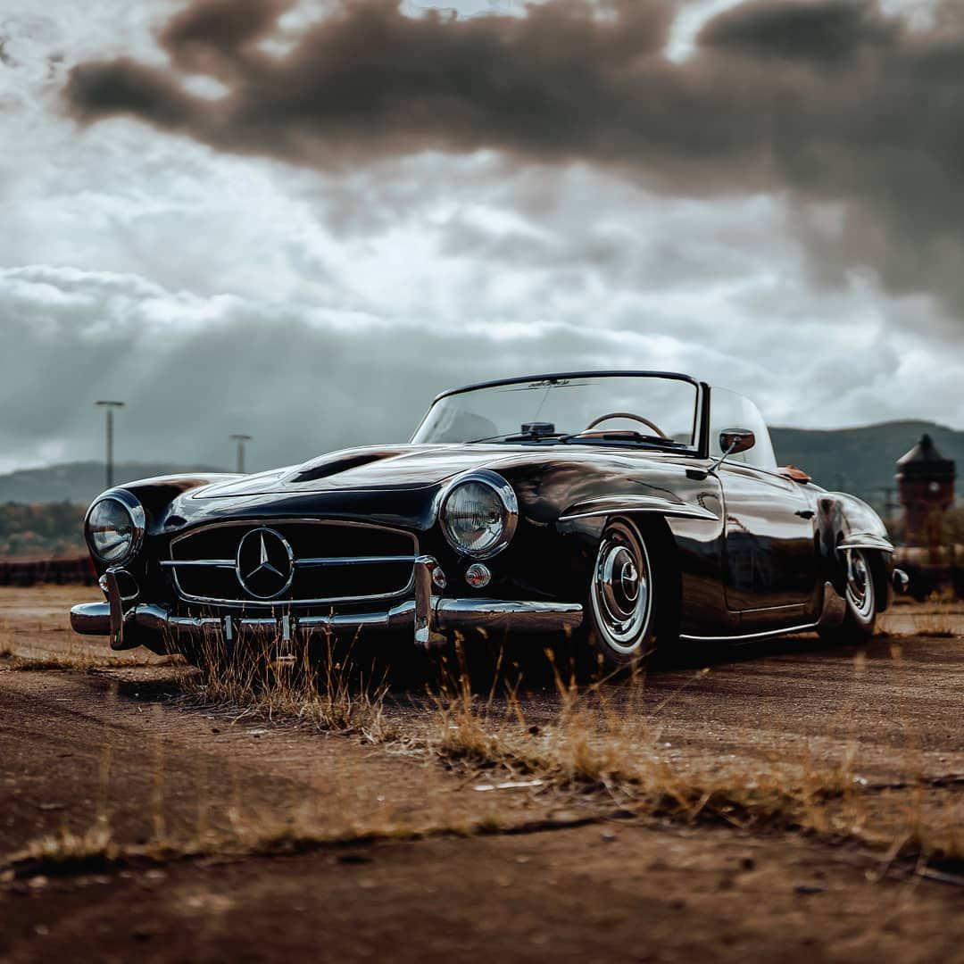 """Mike Crawat on Instagram: """"Psssst, here's some more bagged 190SL porn for you."""""""