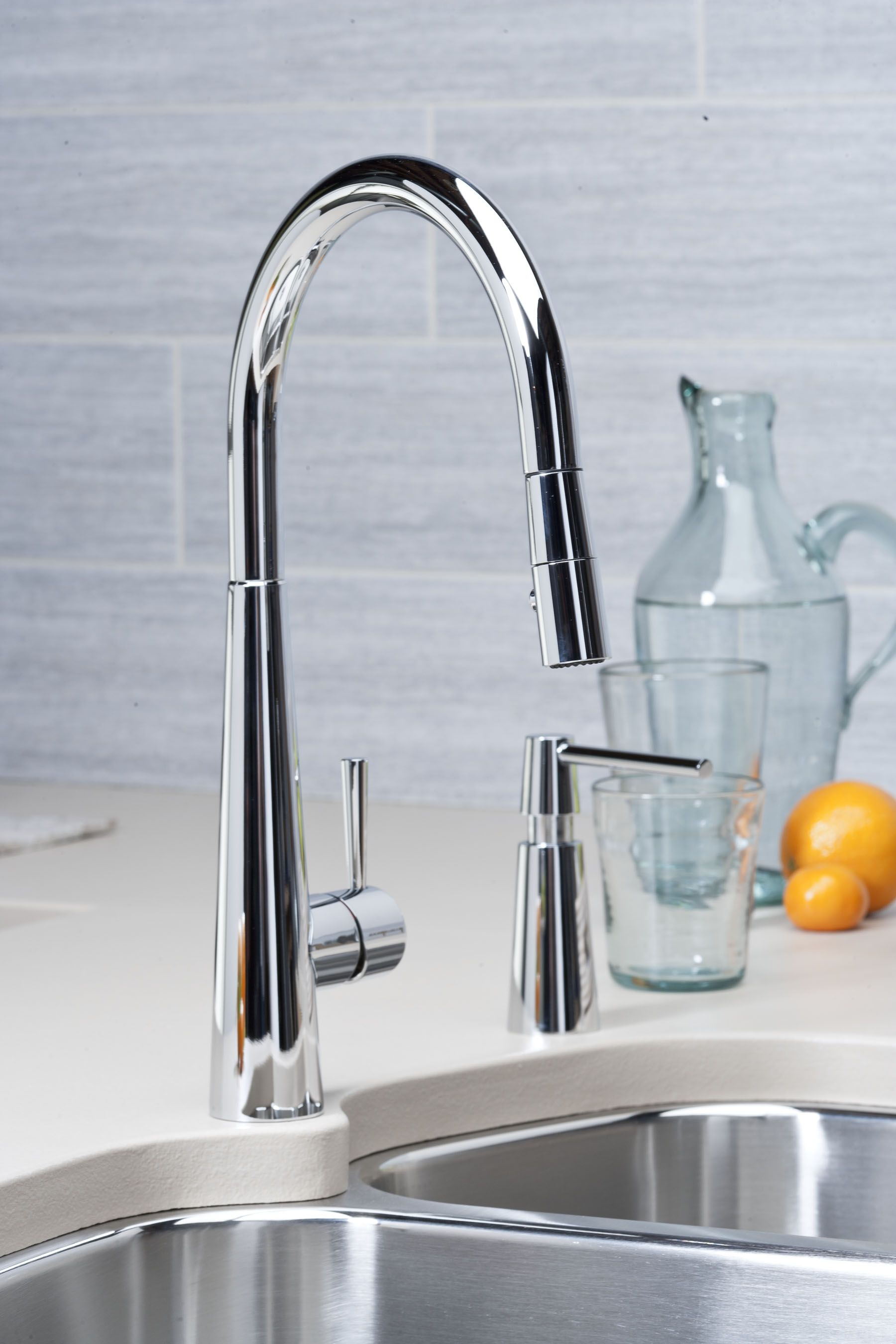 Elkay Harmony Single Hole Kitchen Faucet with Pull-down ...