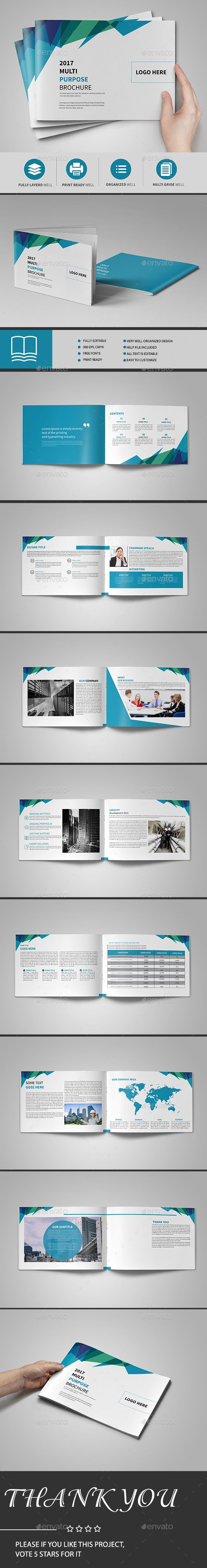 Minimal Business Brochure — InDesign INDD #modern catalogue #modern • Available here → https://graphicriver.net/item/minimal-business-brochure/17788340?ref=pxcr