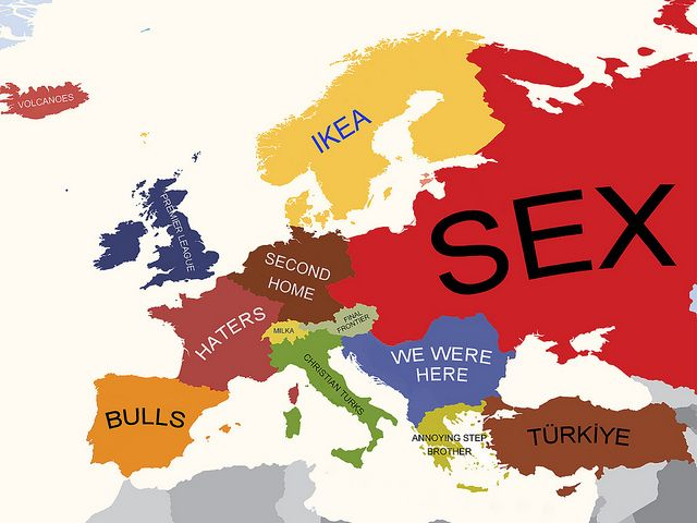 map of turkey in europe Europe According to Turkey | Europe map, Funny maps, Map