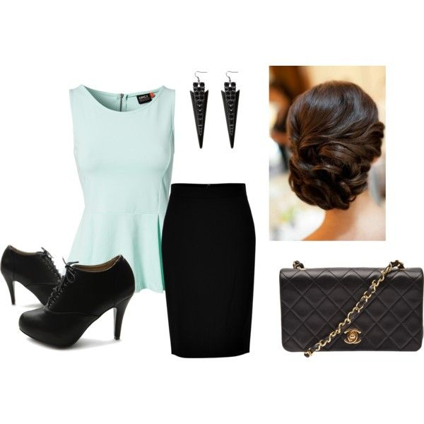 """work"" by ilystyles on Polyvore"