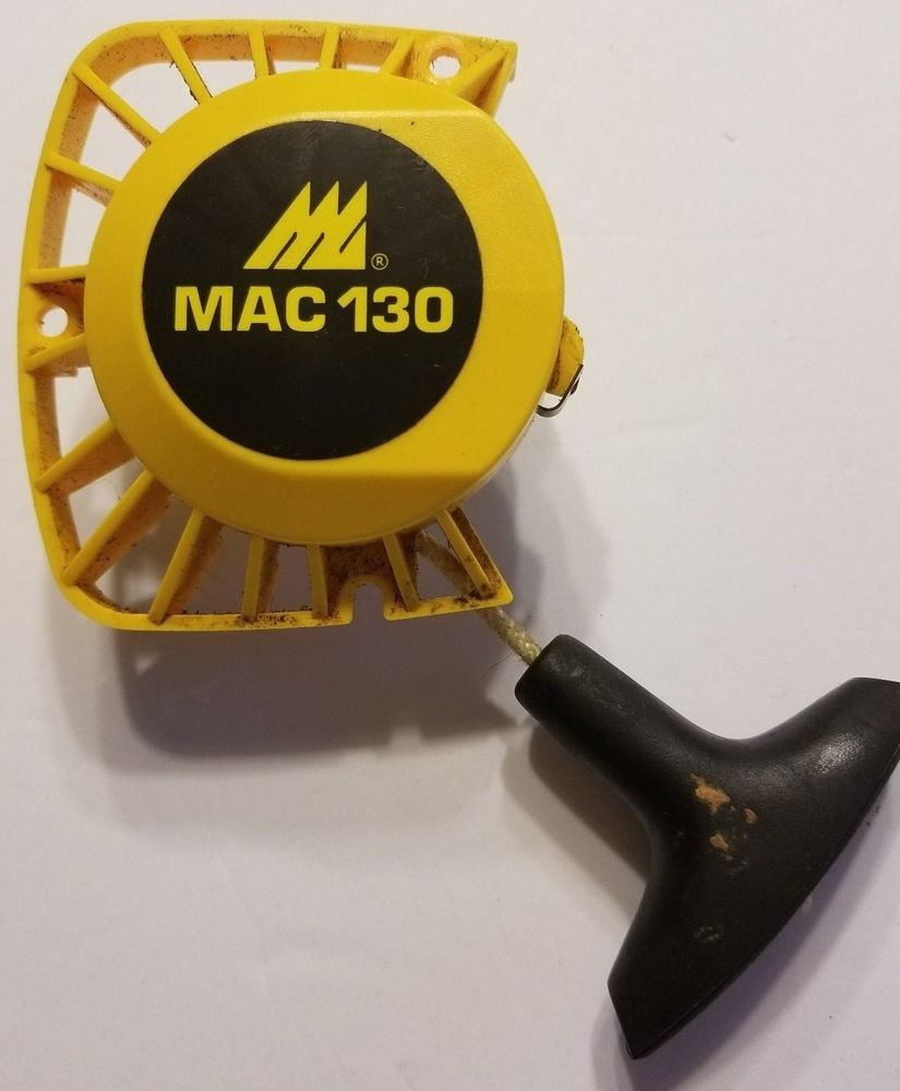 McCulloch Eager Beaver 2.0 MAC 110 120 130 140 Chainsaw Recoil Pull Starter  #McCulloch