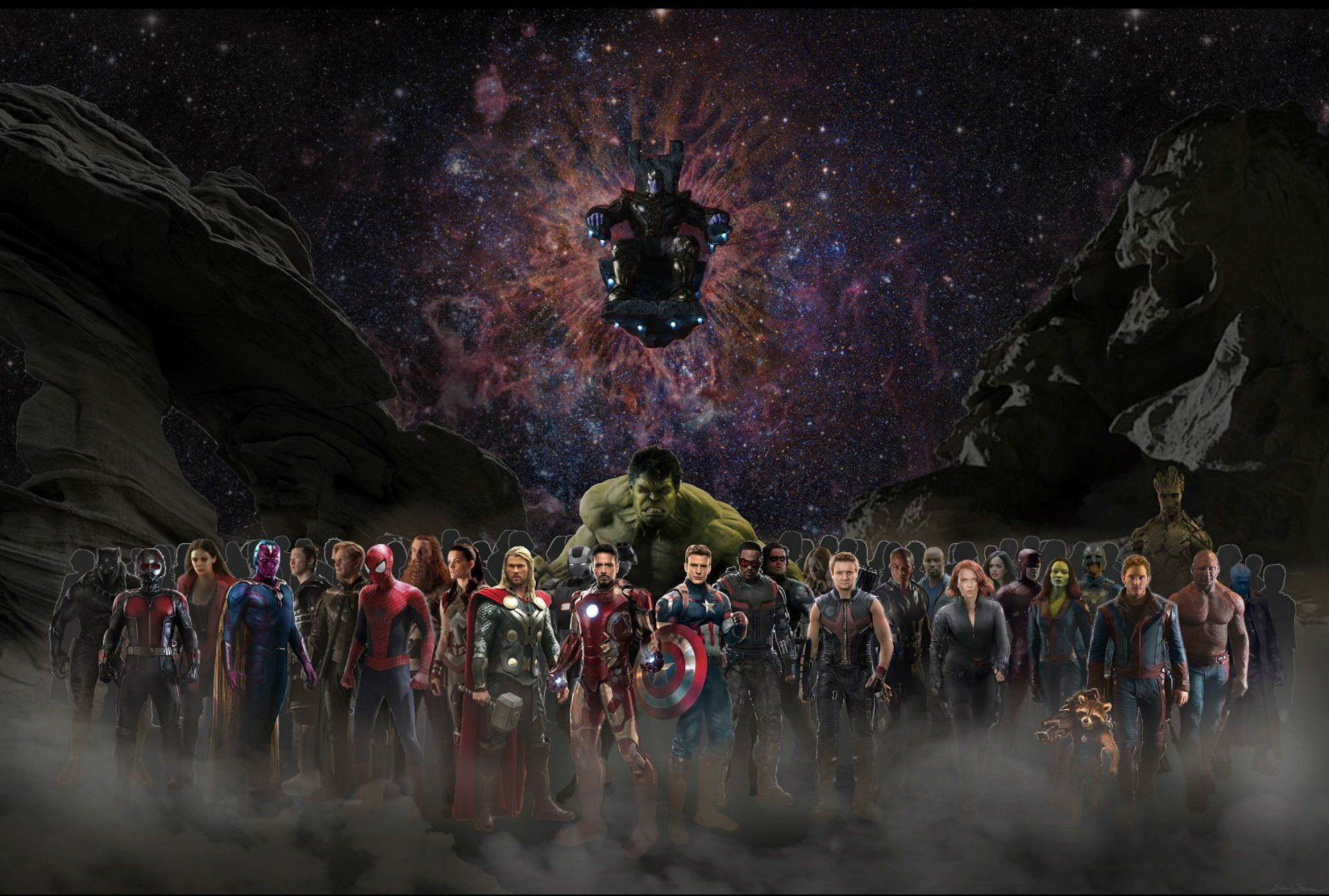 Best Pictures About Avengers Infinity War Concept Wallpapers HD
