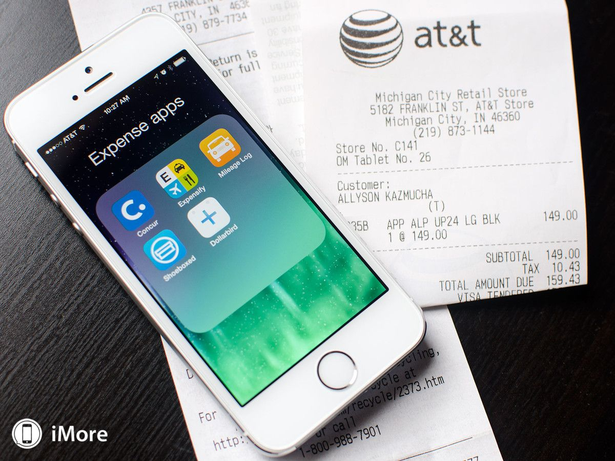 Best expense tracking apps for iPhone Concur, Expensify