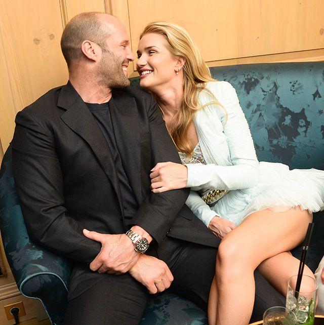 E porque amar, ainda é a melhor opção... Casal do momento, astro de hollywood, o ator britânico Jason  Statham e a sua Inglesa, Rosie, modelo da Victoria Secret...