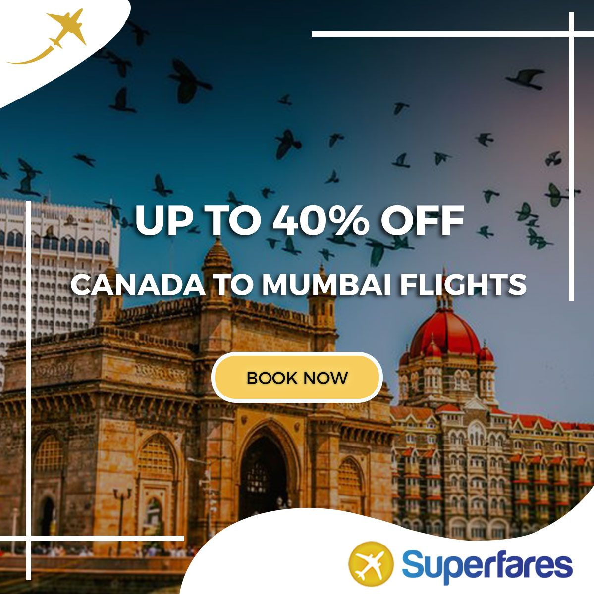 Are you looking for flight tickets to Mumbai at the lowest