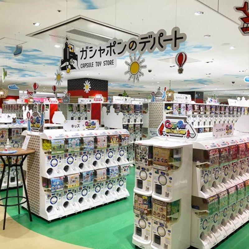 もはや狂気の沙汰 ハムリーズ 横浜ワールドポーターズ店 に 2200機のガチャガチャ専門店 ガシャポンのデパート がオープンしちゃった デパート おもちゃ屋 横浜