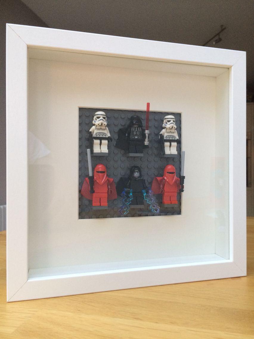 Lego ikea hack. Star Wars wall art. | Made by me | Pinterest