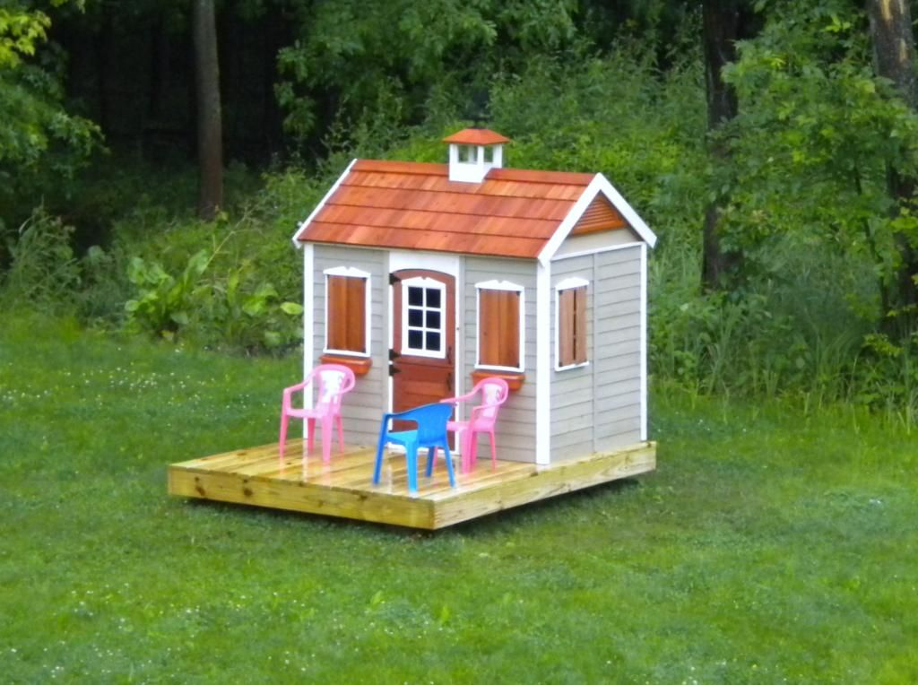 wood playhouse - add Weather Vane?! | Play houses, Wood ...