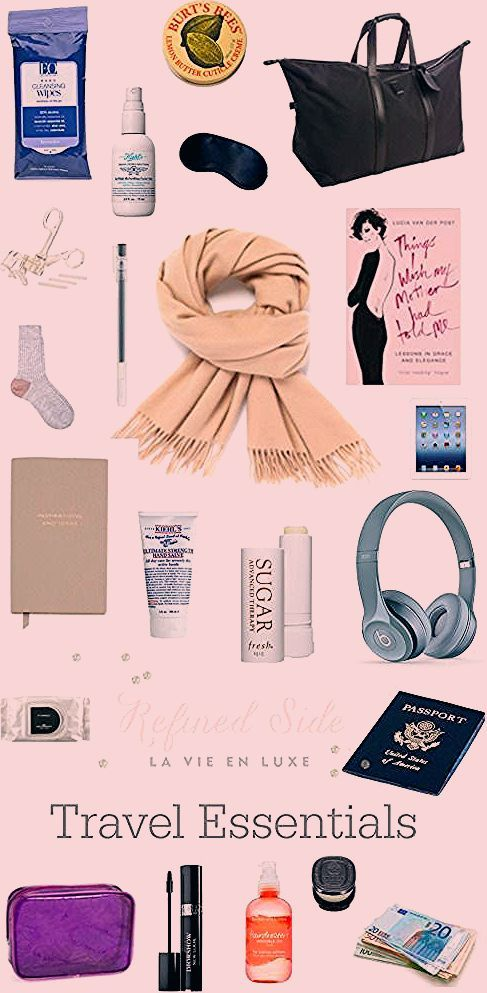 Photo of Everything You Need in Your Carry-on For a Long Haul Flight – Refined Side