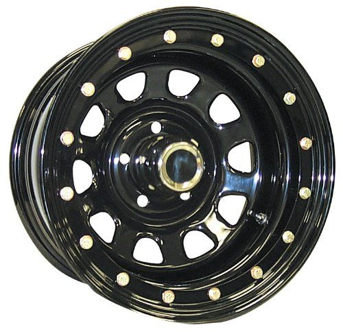 Pro Comp Steel Wheels Series 152 Wheel With Gloss Black Finish 15x105x45 To View Further For This Item Visit The Image Link Wheel Pro Comp Black Wheels