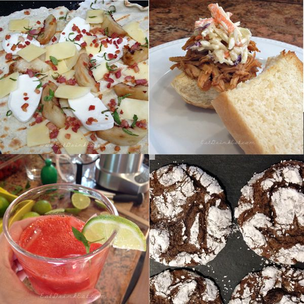 List of the best recipes of 2013!!  Grilled pizza, crockpot pulled pork, strawberry margarita, cake cookies and so so so much more all in one place!!!  ~Eat Drink Eat