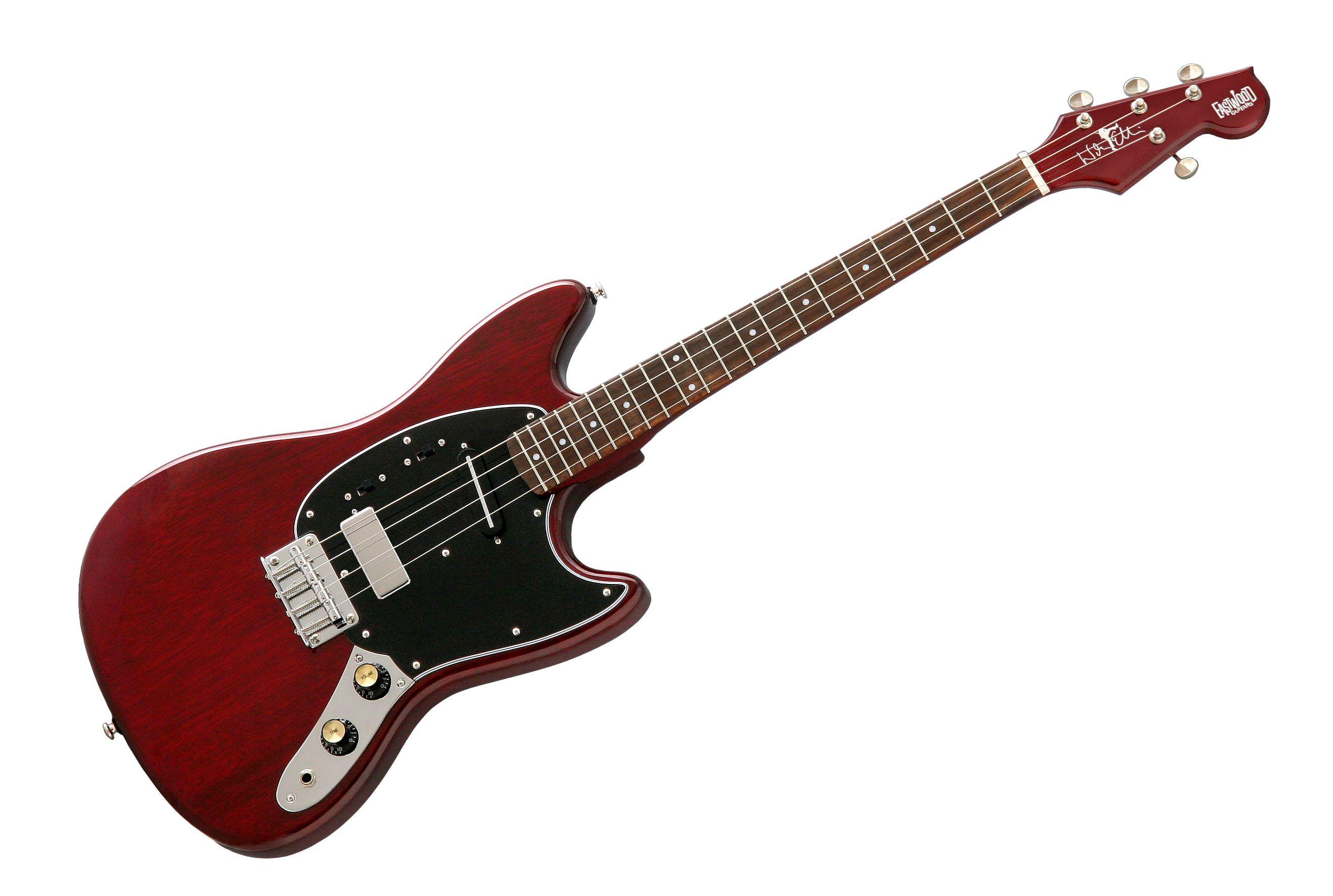 Eastwood Warren Ellis Signature 2P Tenor Guitar (Cherry)