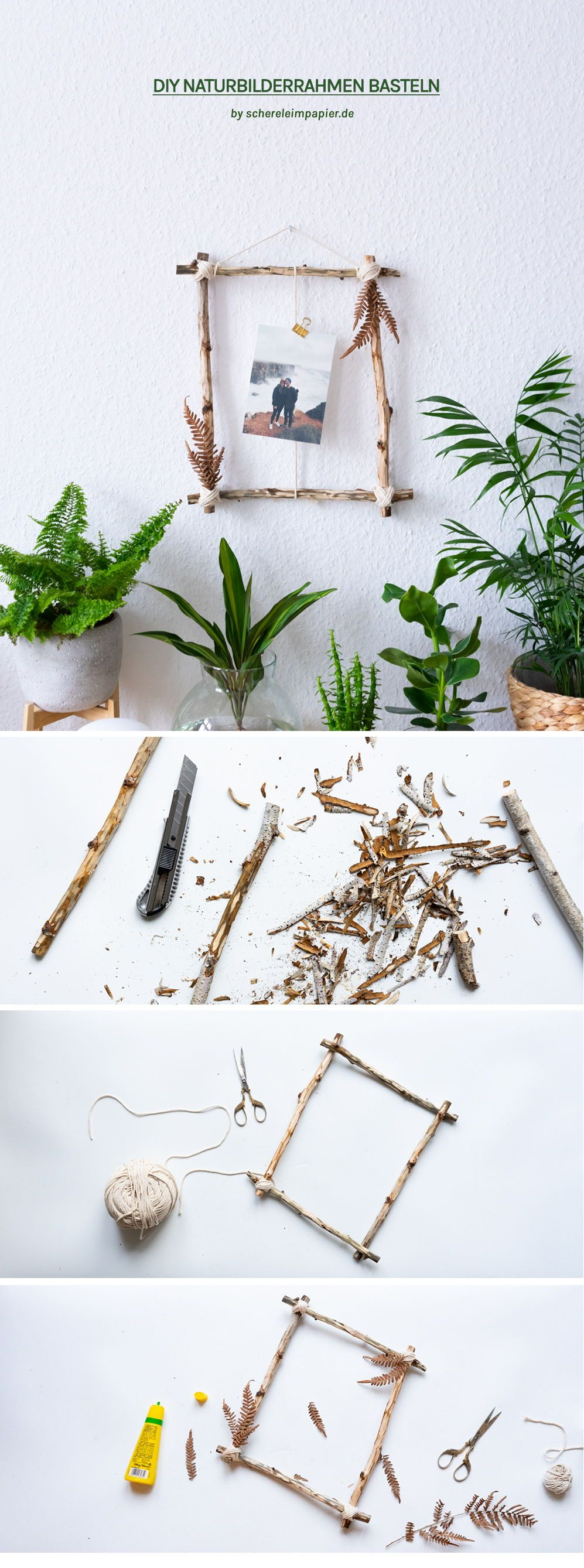 Photo of Handicrafts with natural materials: decoration idea from forest finds |