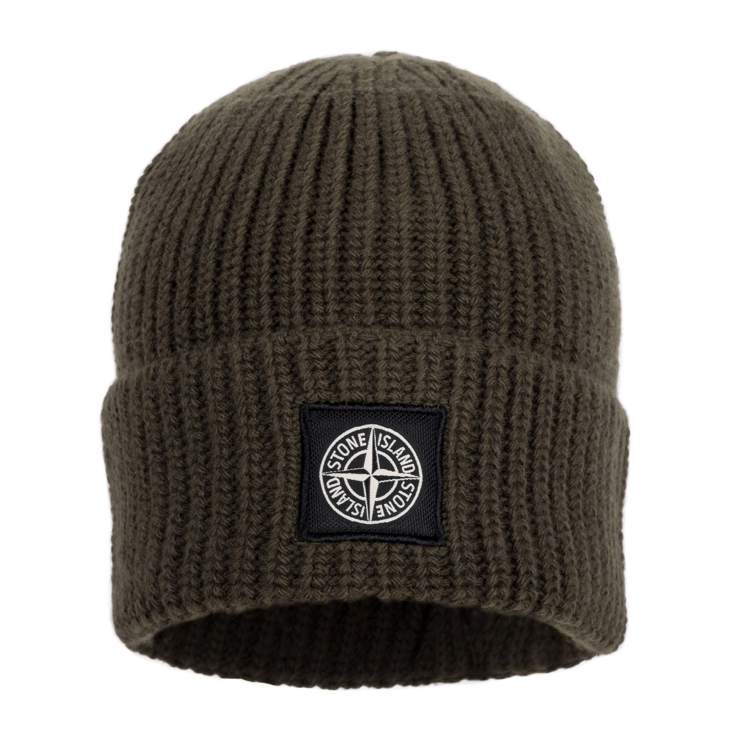 Stone Island Men s Autumn Winter 2018 Beanie Hat in Olive (6915N10B5 V0058)  – RRP c49502b3d0fb