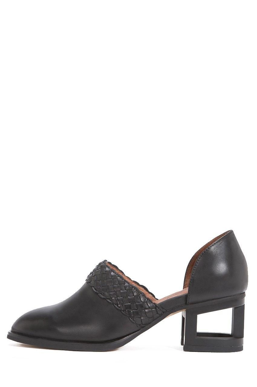 Jeffrey Campbell Shoes JEMIMA-MH New Arrivals in Black Black Matte
