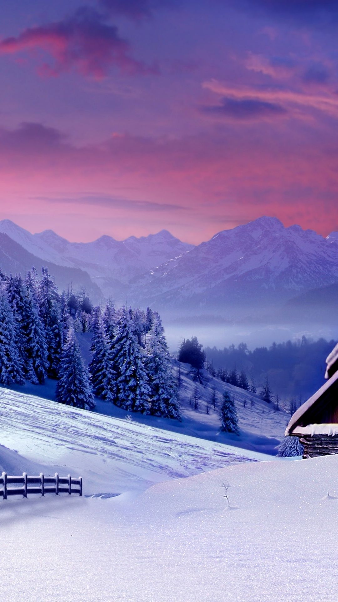 Winter Landscape 4k Ultra Hd Wallpaper 4k Wallpaper Net Iphone Wallpaper Winter Winter Iphone Winter Wallpaper