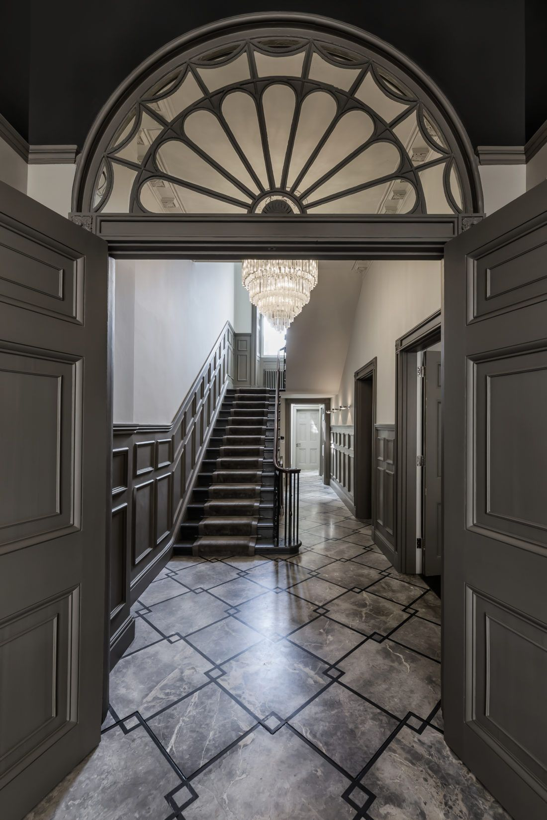 1930s house hallway ideas  Harley Street  SHH  Call it HOME  Pinterest