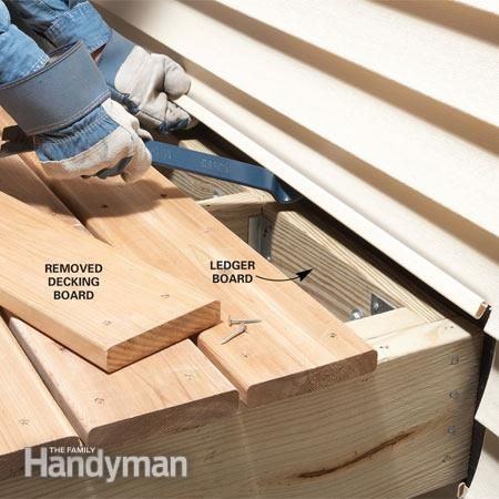 Easy Deck Inspection And Deck Repair Tips Decking Easy