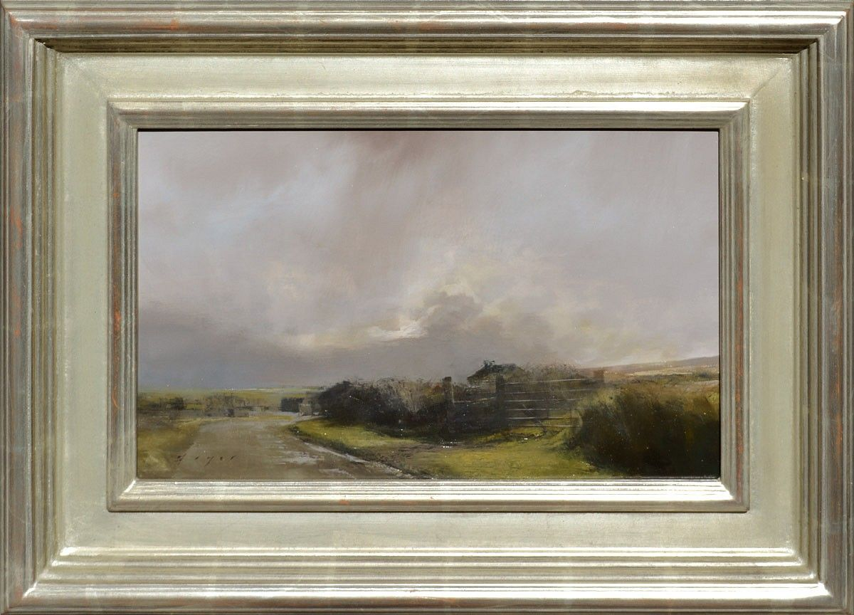 Douglas Fryer, Farm on the North Atlantic oil