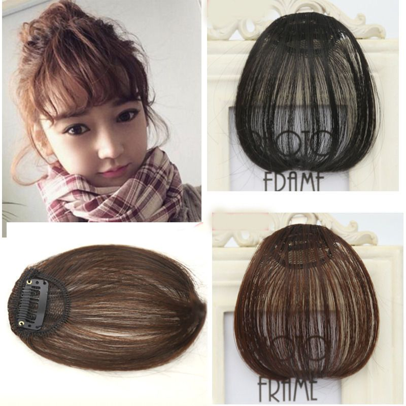 Young Lady Clip In Front Closure Real Remy Human Hair Extensions