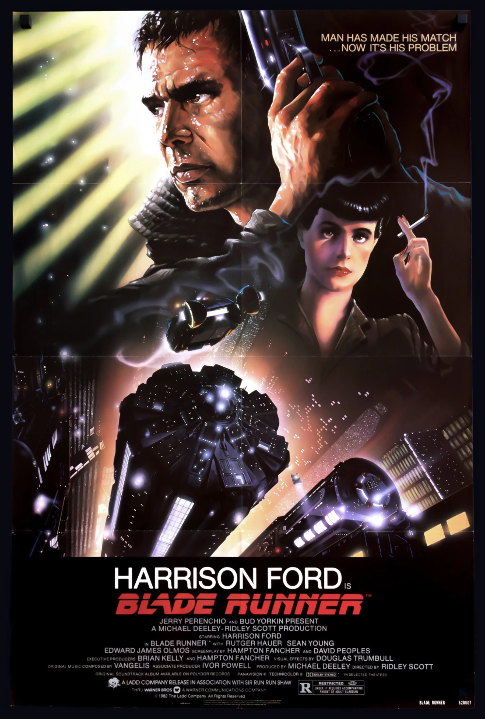 Blade Runner 1982 Blade Runner Poster Blade Runner Best Movie Posters