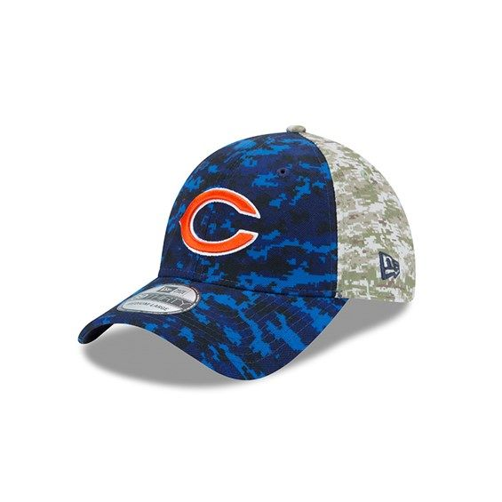 on sale 7b38c 6a825 ... new zealand chicago bears 2015 salute to service new era onfield  39thirty hat 754ff 1f488