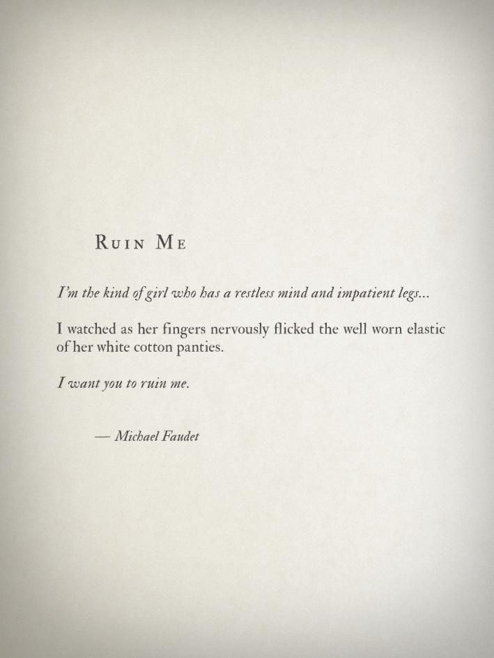 Michael Faudet on Twitter
