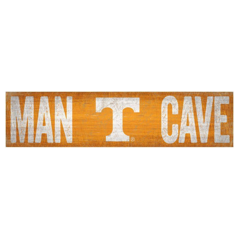 Fan Creations Ncaa Man Cave Sign C0845 Tennessee Man Cave Signs Man Cave Wall Art Decor