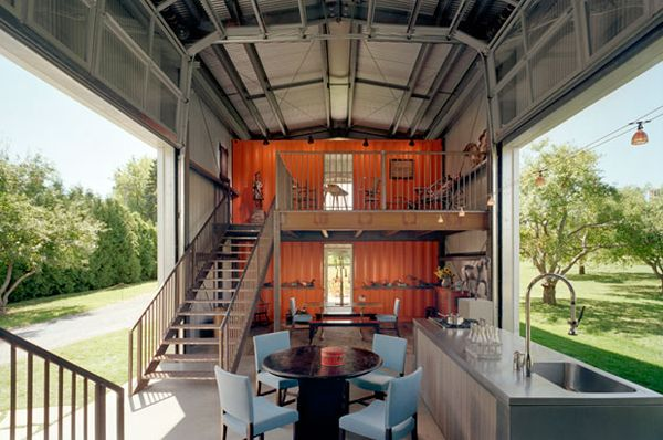 Houses Out Of Storage Containers 22 most beautiful houses made from shipping containers | ships