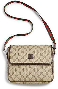 36de4f87c803 Gucci Girl's GG Supreme Messenger Bag | Girls Fashion | Bags, Girl ...