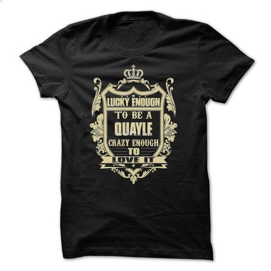 [Tees4u] - Team QUAYLE - #monogrammed sweatshirt #sweatshirt print. PURCHASE NOW => https://www.sunfrog.com/Names/[Tees4u]--Team-QUAYLE.html?68278