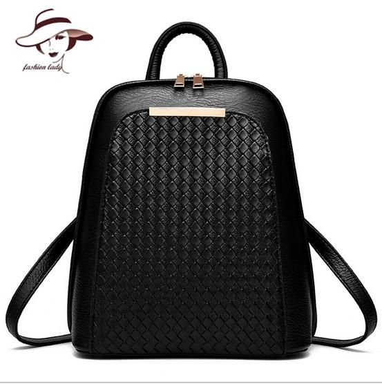 dfd1316e8e Vintage Casual New Style Backpack Leather High Quality Hotsale Women Candy  Clutch Ofertas Famous Designer Brand School Bags