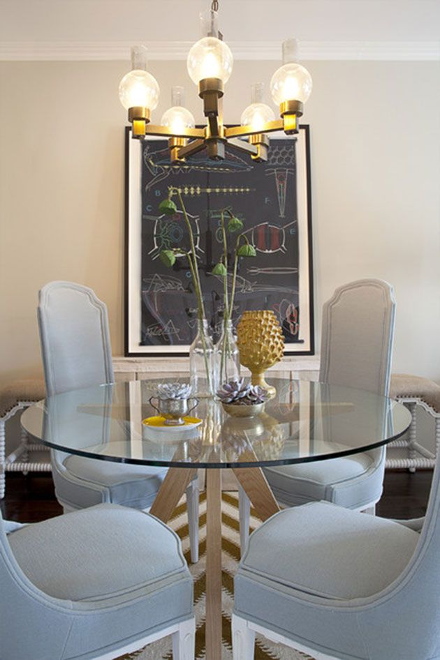 35 fotos e ideas para decorar la mesa del comedor | Pinterest ...