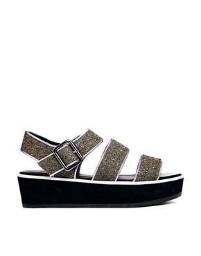 ASOS - sparkling platform sandal