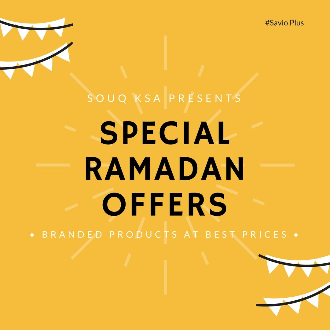 Souq KSA Presents Special #Ramadan #Offers Buy the #Branded Products