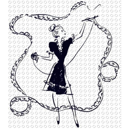 crochet clip art retro lady crochet large lace clip art image rh pinterest co kr Sewing Quilting Clip Art Sewing Quilting Clip Art