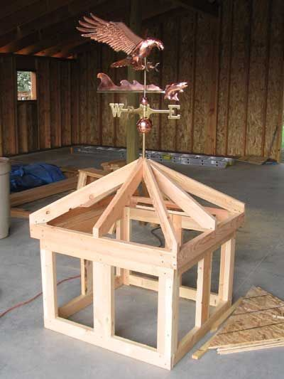 How To Build A Cupola With Windows Poleshedplan Play Houses Cupolas Wood Projects