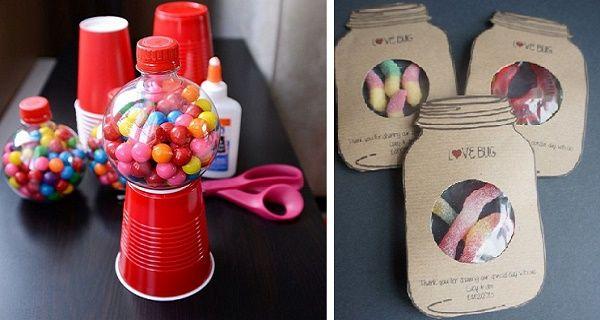 20 creativas maneras para regalarle dulces a los ni os - Creatividad para regalar ...