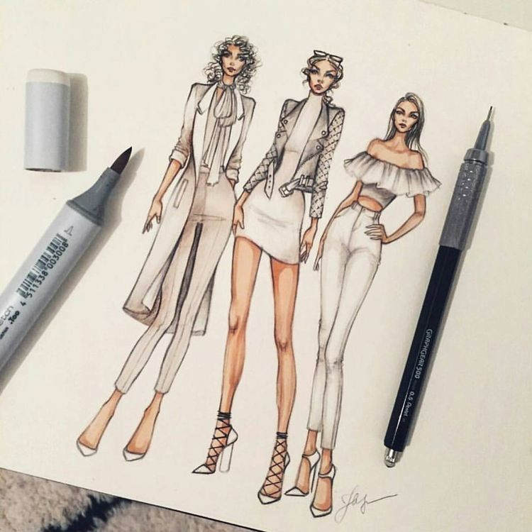 Pin de Jenny Ton en My hobby | Pinterest | Figurin, Bocetos y ...