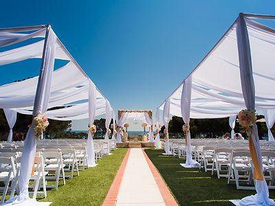 Laguna Cliffs Marriott Resort And Spa Dana Point Orange County Wedding Location