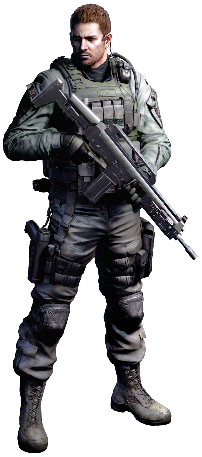 Vignette2 Wikia Nocookie Net Deathbattlefanon Images E Ea Chris Redfield Render Re6 By Ninaxleon D4ym61y Png Revision Resident Evil Resident Evil Game Resident