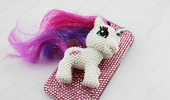 buy online d0997 35218 Blinged out iPhone cases   blinged-out 3D unicorn iPhone case ...