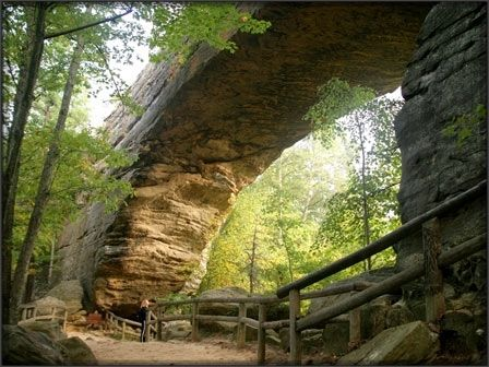 Natural Bridge State Park In Slade Kentucky Kentucky