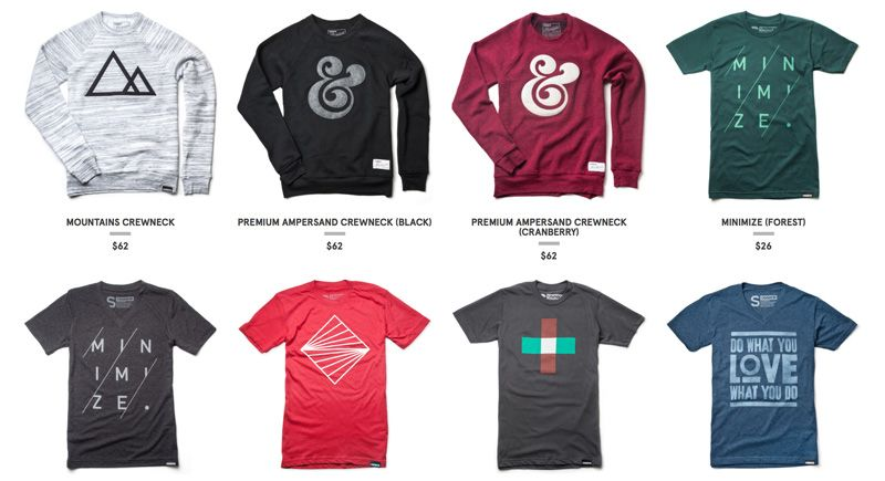 12 Sites That Sell Cool T Shirts For Designers Creative