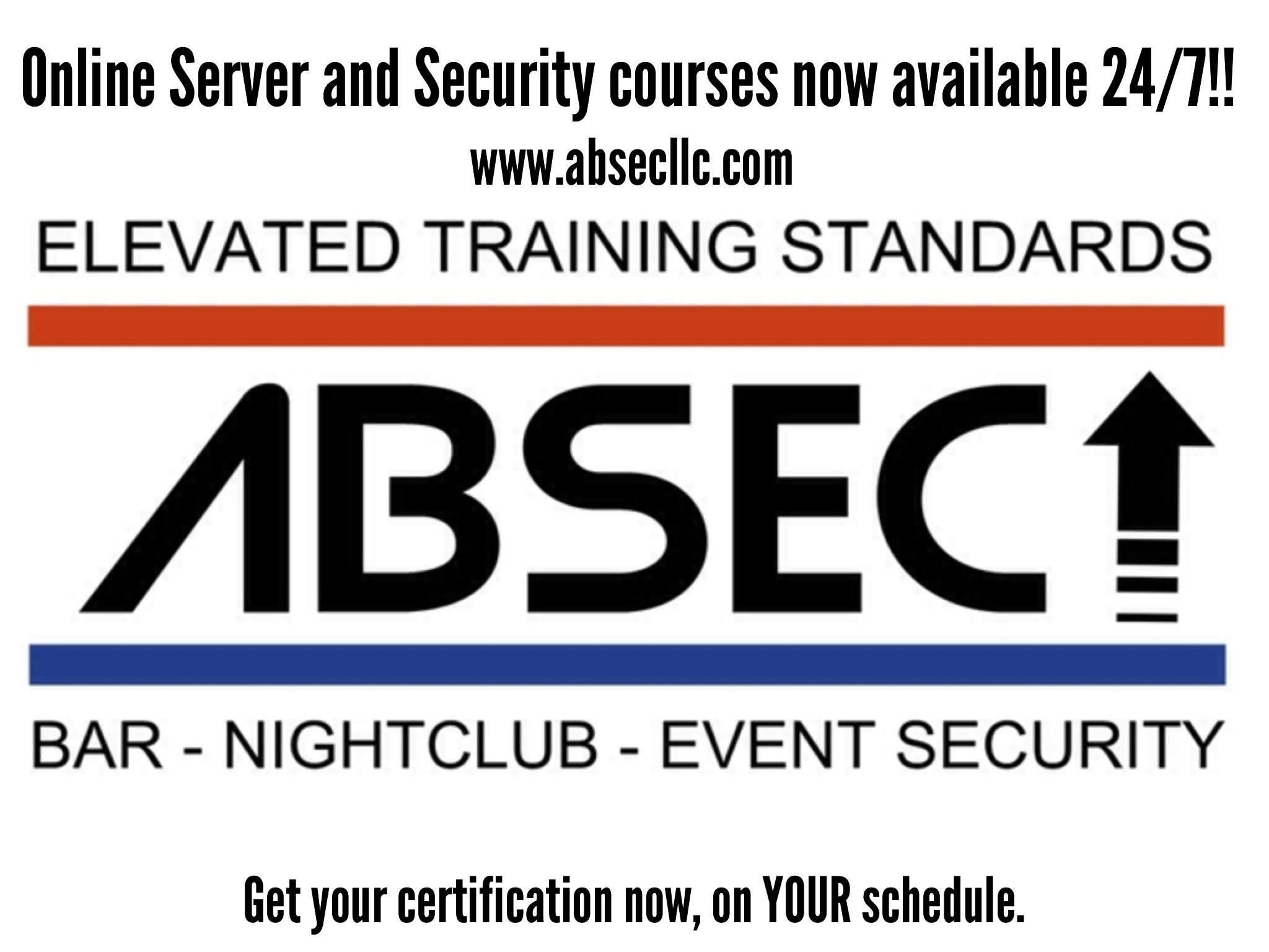 Absec llc offers online certification for the state approved absec llc offers online certification for the state approved louisiana responsible vendor louisiana abo security 1betcityfo Gallery